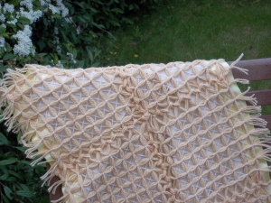 Baby blanket - Magic Butterfly Loom